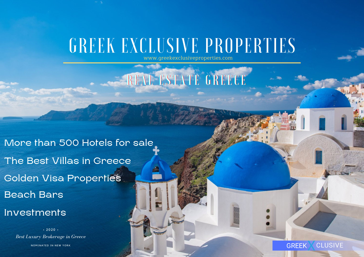 Greek Exclusive Properties, Real Estate Greece, Top Villas, Property in Greece, Luxury Estate, Home for sale in Greece