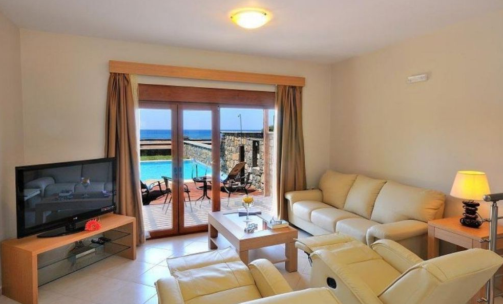 Rental villa with pool on the beach, Rhodes
