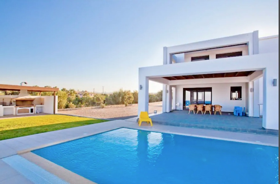 Beachfront Villa in Rodos, Genadi