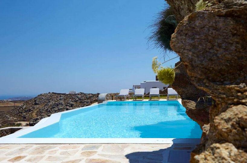 Mykonos Villa at Fanari For Rent