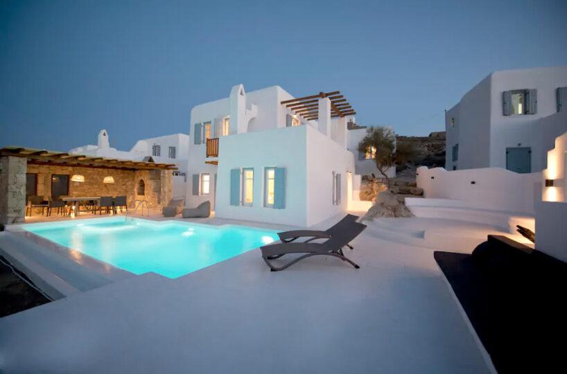 Villa in Ornos Mykonos with 3 Bedrooms
