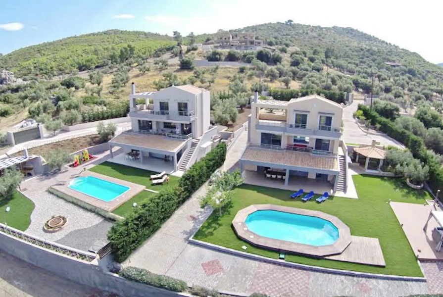 Beautiful Villa at Lake of Loutraki, Attica
