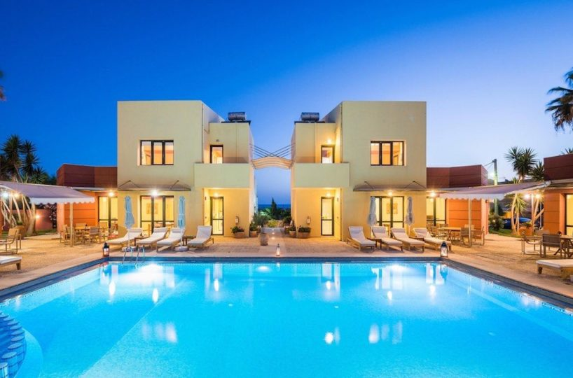 Property of 4 villas for up to 24 guests in Crete For Rent