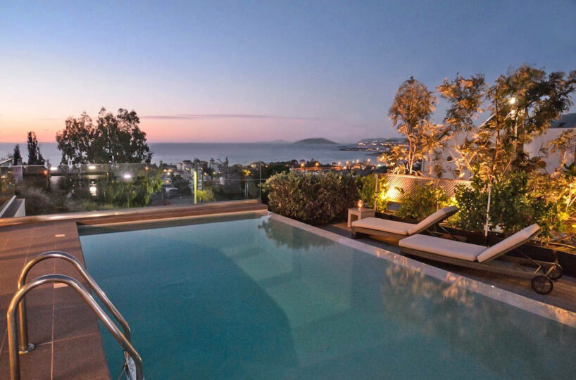 Sea View villa in Lagonissi , Athens Riviera