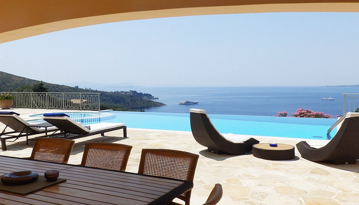 Corfu Villa, Luxury villas, Greek island villa, Villas for rent,  Holidays villas, Rental villas Greece.