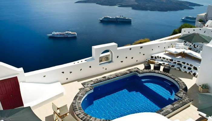Rent Caldera Villa Santorini. Luxury villas, Greek island villa, Villas for rent,  Holidays villas, Rental villas Greece.