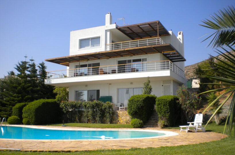Sea View Villa in South Attica, Near Sounio