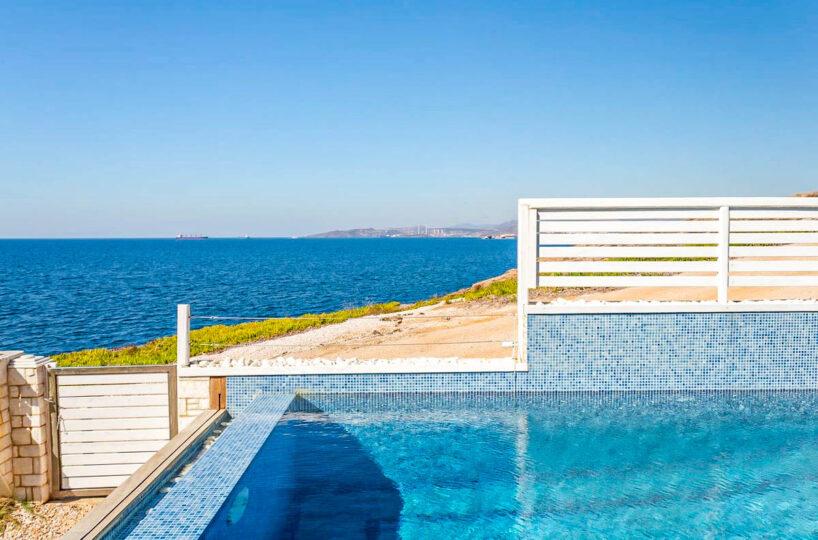 Seafront Villa in Athens Greece, Attica Sounio
