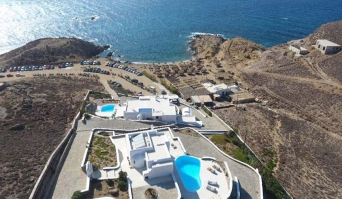 Luxury Seaview Villa Mykonos for Sale, Ftelia