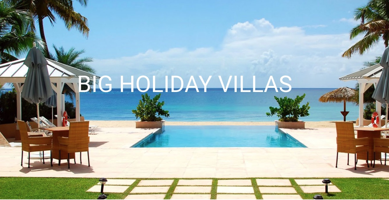 Big Holiday Villas Greece
