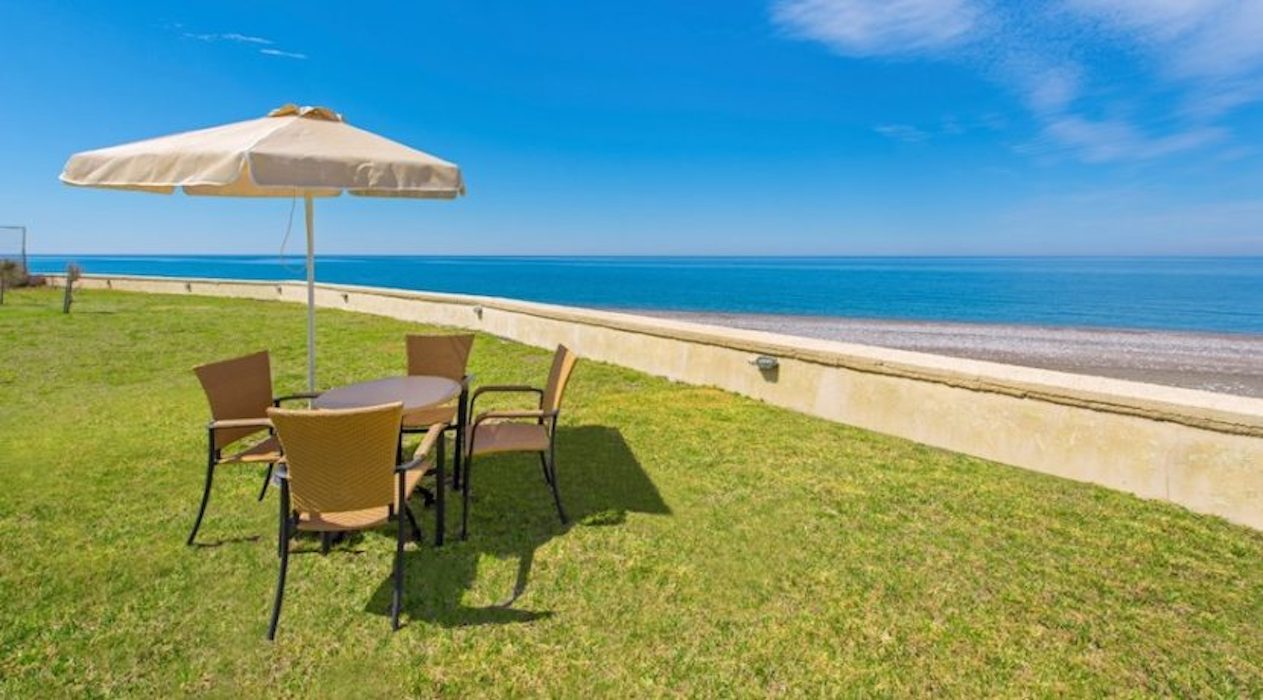 Seafront Villa in Rhodes Island for Sale