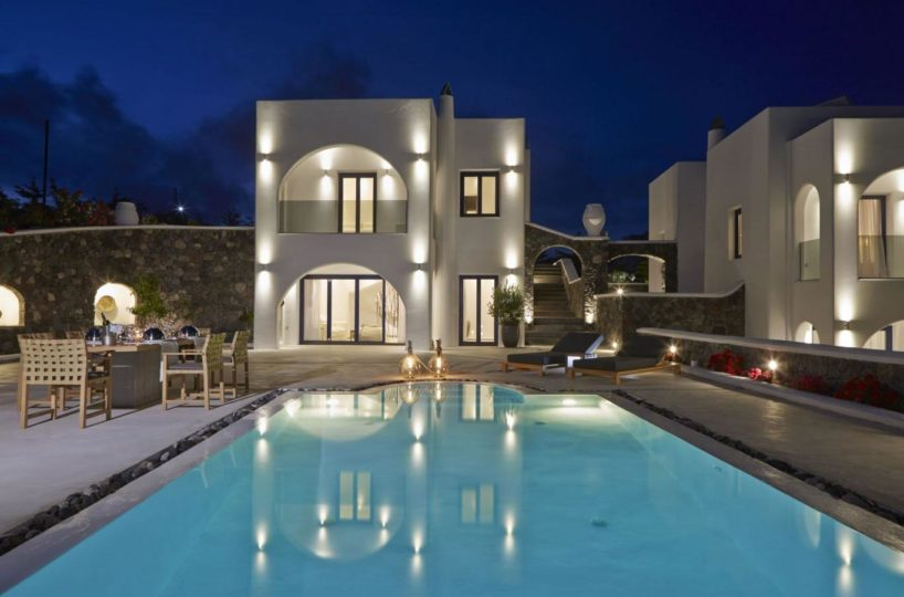 3BDR Santorini Villa
