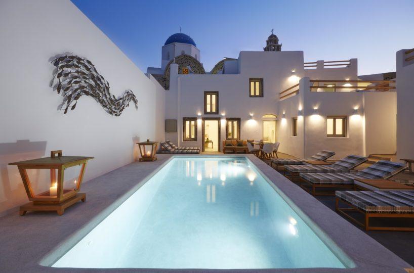 Beautiful Villa Santorini Mesaria