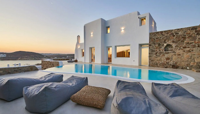 Luxury Seaview, Beachfront Villa, Luxury villas, Greek island villa, Villas for rent,  Holidays villas, Rental villas