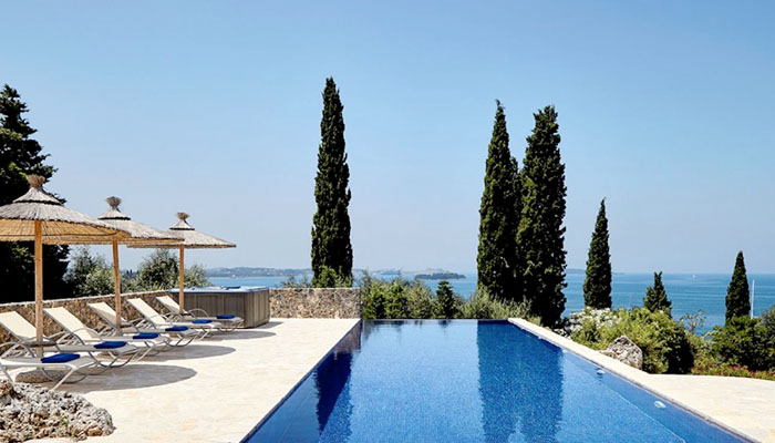 New Built villa. Luxury villas, Greek island villa, Villas for rent,  Holidays villas, Rental villas Greece.