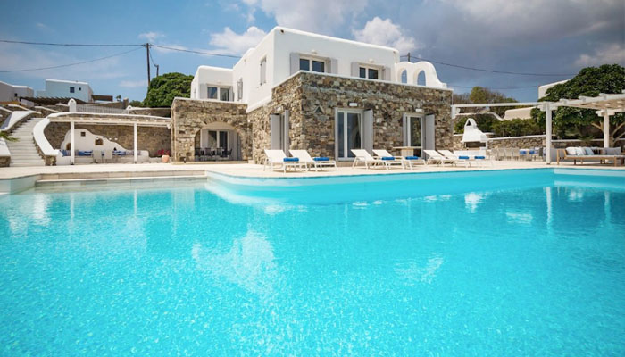 Luxury villas, Greek island villa, Villas for rent,  Holidays villas, Rental villas