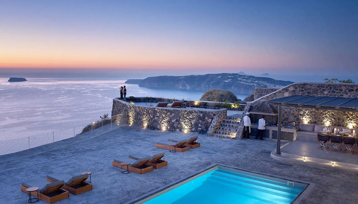 Luxury Estate in Santorini. Luxury villas, Greek island villa, Villas for rent,  Holidays villas, Rental villas Greece.
