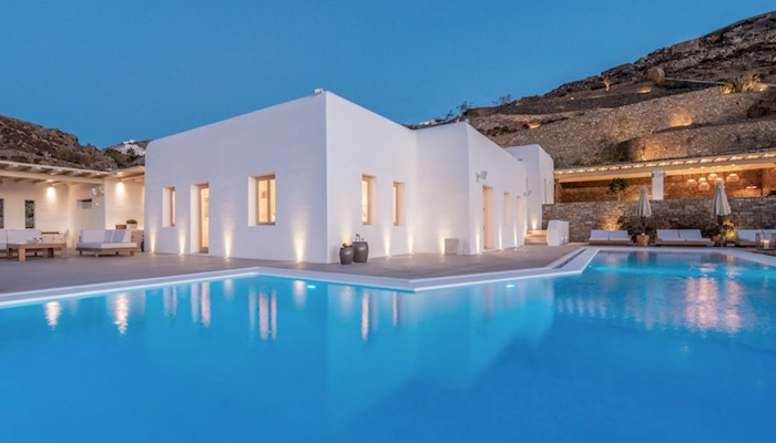 Mykonos villas. Luxury villas, Greek island villa, Villas for rent,  Holidays villas, Rental villas