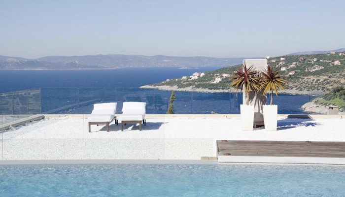 Seaview Villa at Southeast Attica, Luxury villas, Greek island villa, Villas for rent,  Holidays villas, Rental villas Greece.