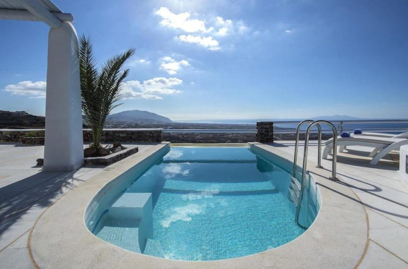 Sea View Villa Santorini, Vourvoulos