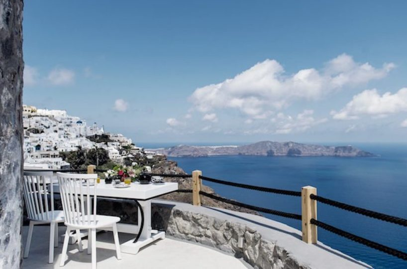 Windmill At Caldera Of Santorini for sale