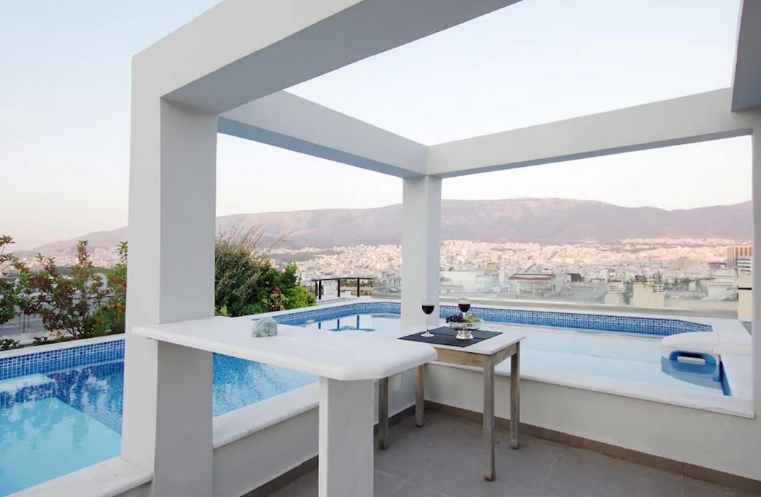 Athens Lycabettus Hill Penthouse