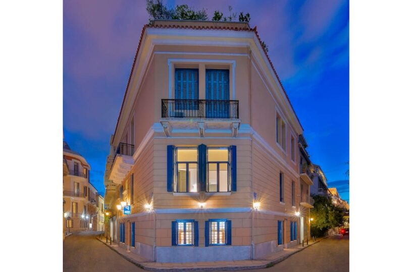 Classic Townhouse Athens Center, Plaka. Holiday Villa for rent in Athens City Center
