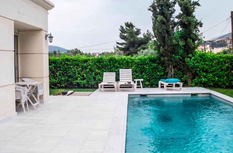 Holiday Villa South Attica, Lagonissi. Villas in Athens for rent