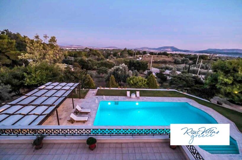 Holiday Villa near Athens Airport, Rent Villas Greece