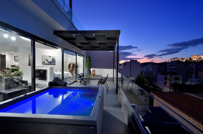 Loft Athens with Acropolis View for rent