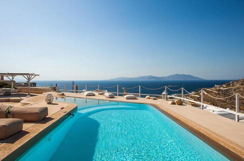 Luxury Holiday Villa Mykonos Kanalia Ornos, Rent a Villa Mykonos Greece