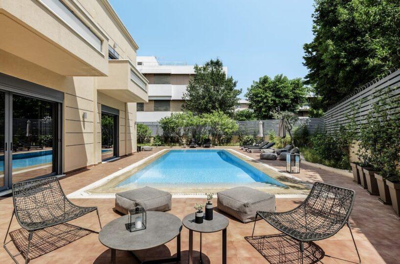 Luxury Holiday Villa in Athens, Psichiko. Luxury Villas in Greece