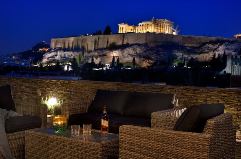 Luxury Maisonette in Athens with Acropolis view. Holiday Homes Athens