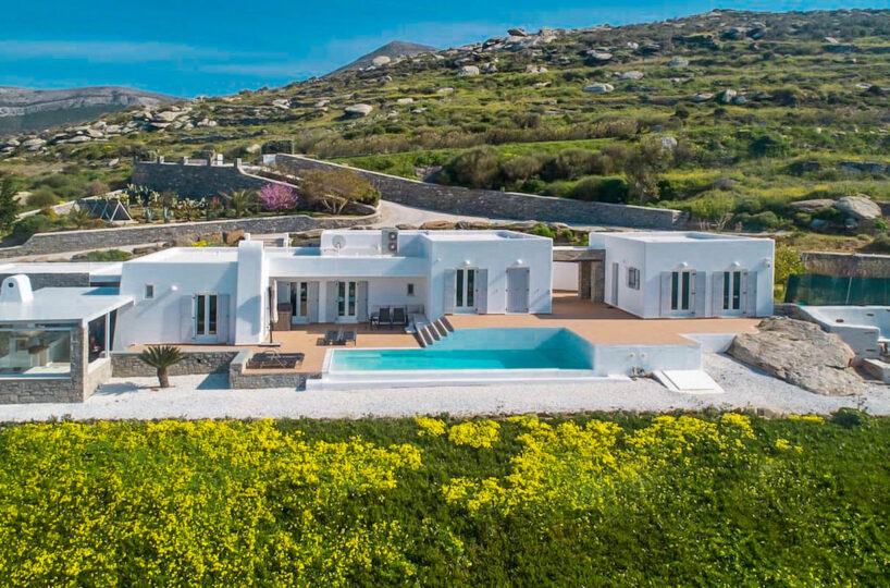 Panoramic View Holiday Villa Paros Cyclades