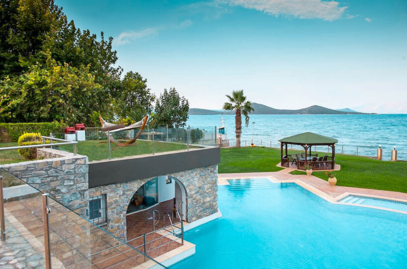 Seaside Luxurious Villa one hour from Athens, Holiday Villas Athens. Luxury Holiday Villas in Athens Greece